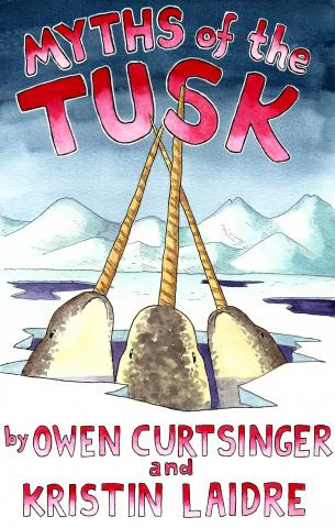 Illustrated book cover for Myths of the Tusk