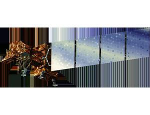 Landsat 7 spacecraft icon