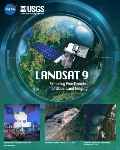 Landsat 9 Mission Poster