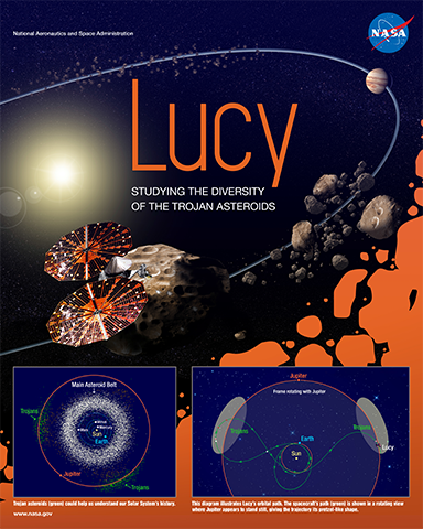 Lucy Mission Poster