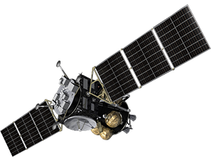 Illustration of MMX spacecraft