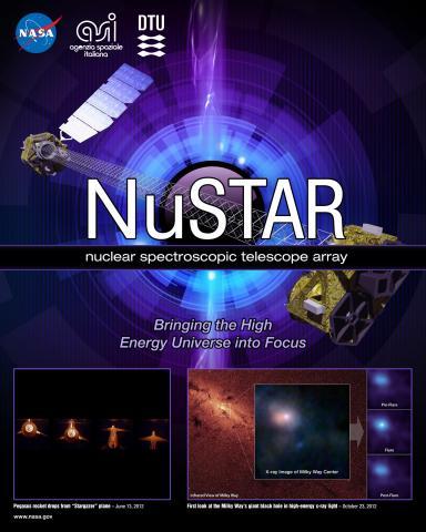 NuSTAR Mission Poster