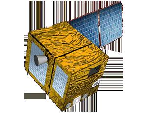 Parasol spacecraft icon