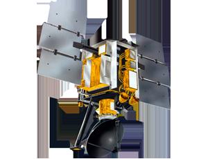 QuikScat spacecraft icon