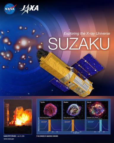 Suzaku Mission Poster