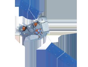 TRMM spacecraft icon
