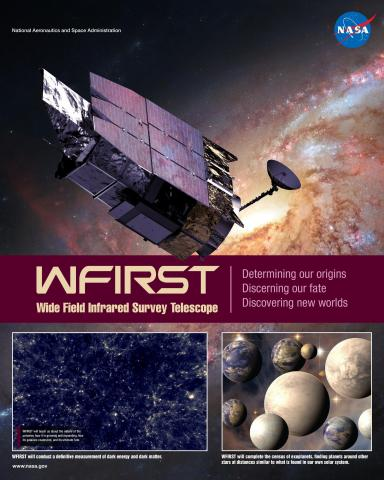 WFIRST Mission Poster