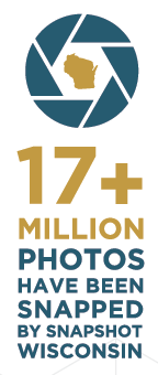 17 Million plus photos have been snapped by Snapshot Wisconsin