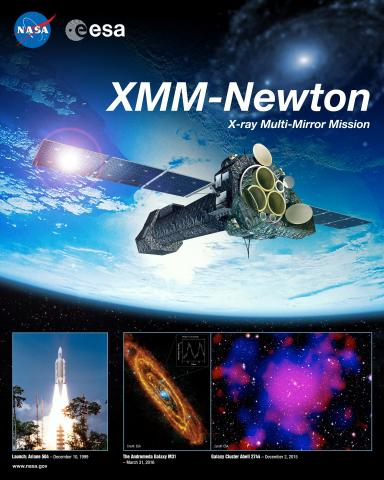 XMM-Newton Mission Poster