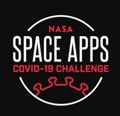 Logo for NASA Space Apps COVID-19 Challenge