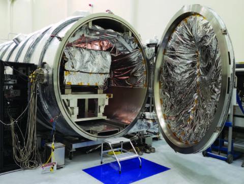Photo of vacuum chamber