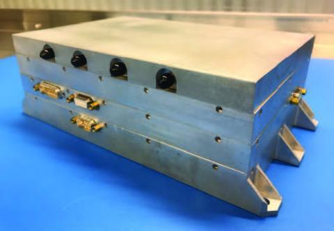 Photo of bifocal electronics box