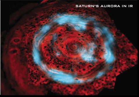 Saturn's Aurora in IR