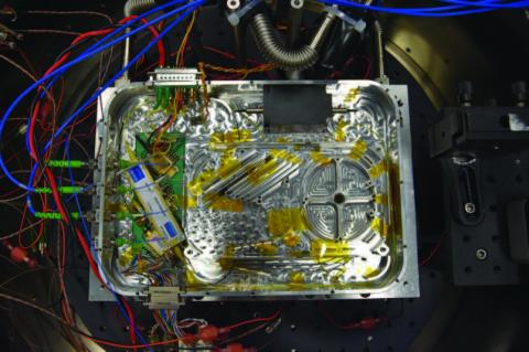 Photo of GSFC in-house power amplifier assembly that meets the LISA requirements