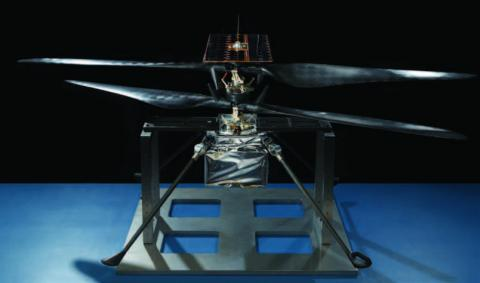 The finalized Mars Helicopter Flight Model