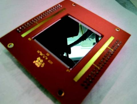 Photo of @-D-doped p-channel CCD