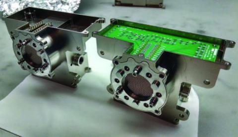 Photo of detector prototypes