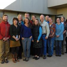 Photo of Planetary Learning that Advances the Nexus of Engineering, Technology and Science (PLANETS) team