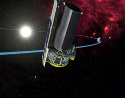 image of spitzer space telescope