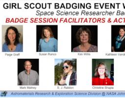 Crop of a photo gallery of Girl Scout Badging Event Session Facilitators & Activity Leads.
