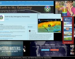 Earth to Sky Brings NASA Earth Science to the National Association for Interpretation