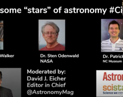 Astronomy Magazine Interview for Citizen Science Month