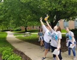 NASA at Odyssey of the Mind World Finals