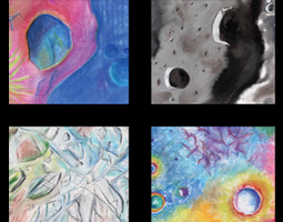 Cosmic image collage