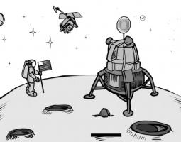 Activities related to the moon