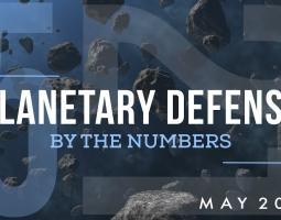 Planetary Defense By the Numbers title screen