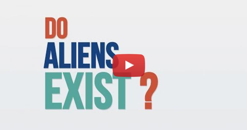 Title Screen reading Do Aliens Exist