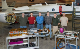 Photo of air-LUCI deployment team