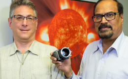 Photo of Dr. Jeff Newmark and Dr. Nat Gopalswamy