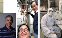 Collage of photos of 5 scientists and researchers.