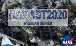 Health and Air Quality Applied Science Webinar Series Banner